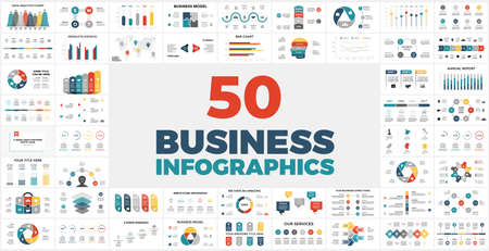 50 Business Infographics for your next presentation. Special Offer - my best financial info graphic templates with tons of charts, diagrams, reports and other elements.