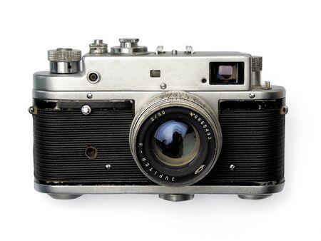 photographic camera: old photographic camera