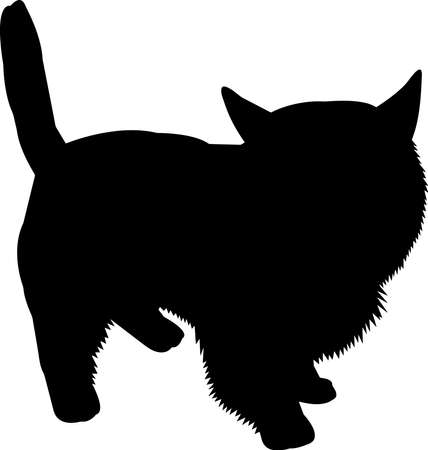 Westie dog 3 isolated vector silhouette Ilustracja