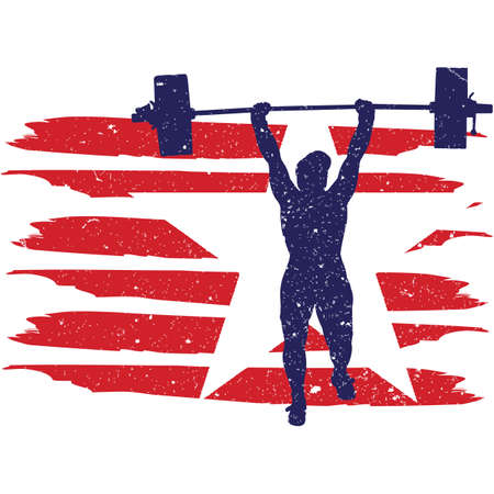 Weightlifting  Women  flag, American Flag, Fourth of July, 4th of July, Patriotic, Cricut Silhouette Cut File, Cutting file