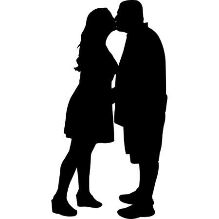 Curvy | Chubby |Heavy Couples Vector SIlhouette