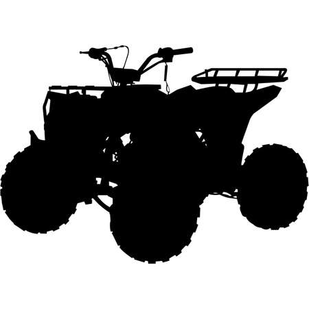 ATV Silhouette Vector