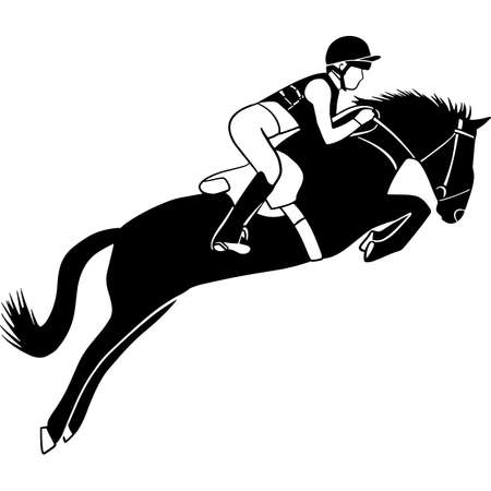 Hand drawn Eventing 3  Vector Sketch