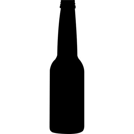 Bottle Silhouette Vector