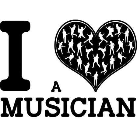 Love Guitarist-heart_1.zip, Heart Guitarist-heart_1.zip, Split frame Vector
