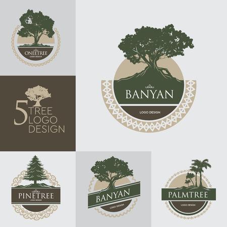 5 set tree design