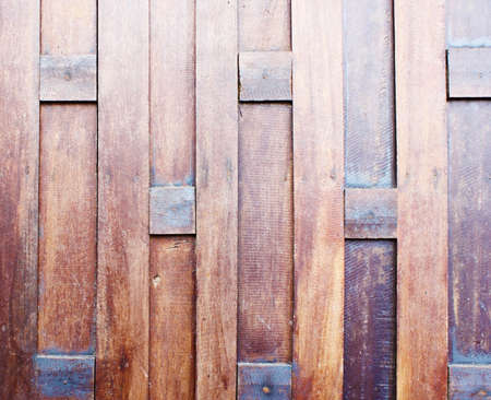 Thai style wood wall background