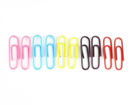Colorful clip on a white background