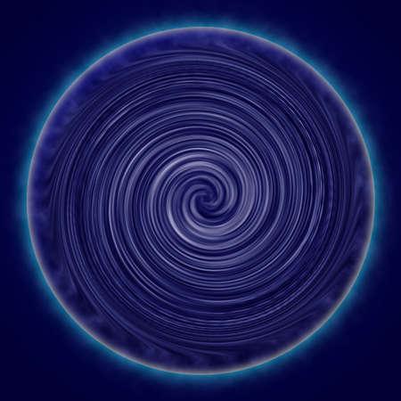 Blue Twirl Background photo