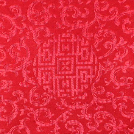 red Thai fabric patter photo