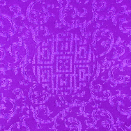 Purple Thai fabric patter photo