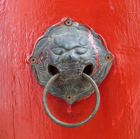 Oriental door knob photo