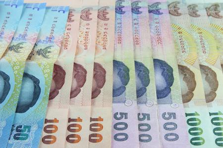 Thai money background photo