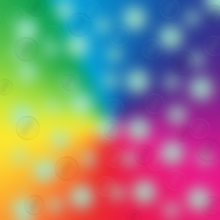 abstract rainbow magic bokeh  background photo