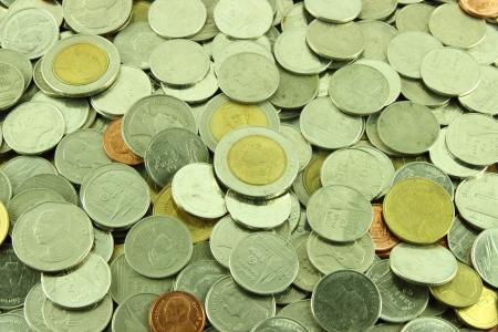 Coins Thai Baht  photo