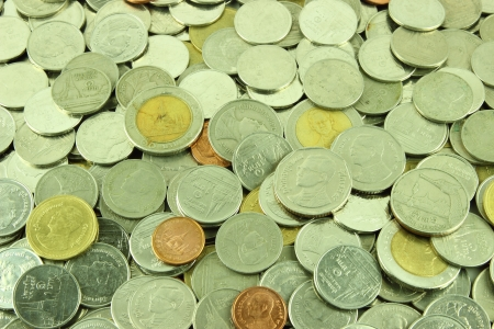 Coins Thai Baht  photo