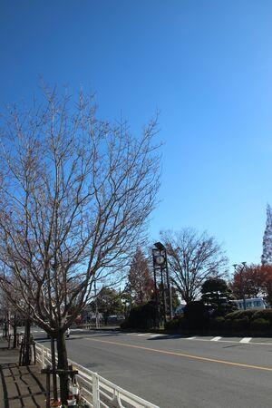 Japans street at Saitama Japan