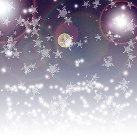 Abstract snowflakes christmas  photo