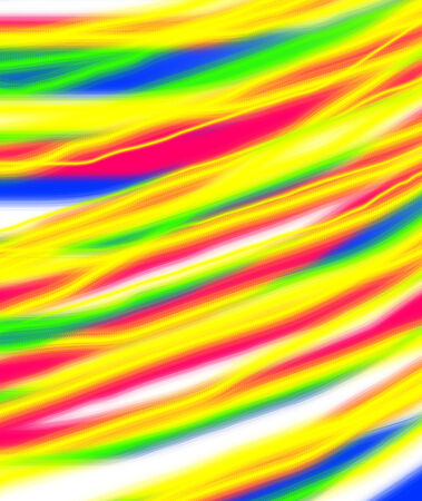 magic rainbow lines abstract background Stock Photo