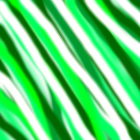 magic green and white lines abstract