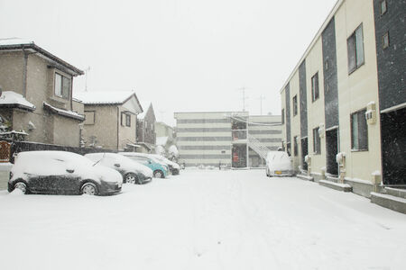 Japan- Feb08   The heaviest snow in decades in Tokyo and other areas of Japan  , On FEB 08, 2014 in  Japan photo