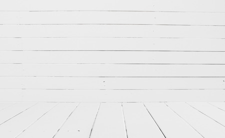 High resolution White wooden wall background photo