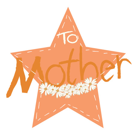 cute greeting card background for Mothers Day photo