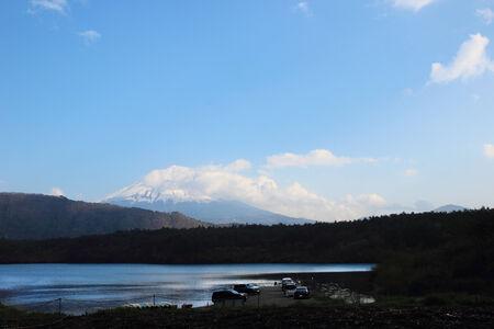 Mt.Fuji at Lake Kawaguchi, Yamanashi, Japan