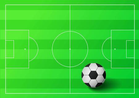 greenfield: Soccer ball illustration Illustration