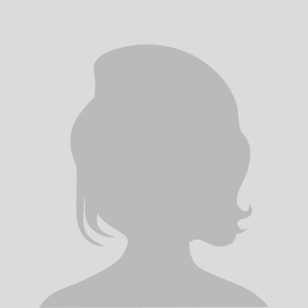 Default avatar profile icon. Grey photo placeholder, illustrations vectors Illustration