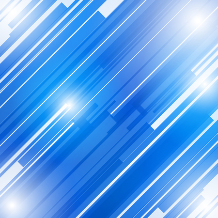 Abstract blue technology, future concept background Vector illustration
