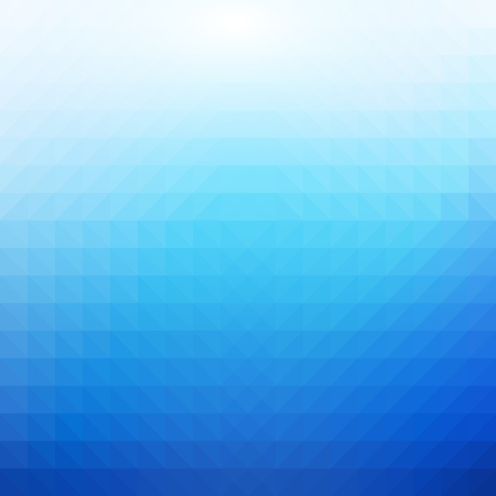 Blue and White Polygonal Mosaic Background, Vector illustration, Creative Business Design Templates