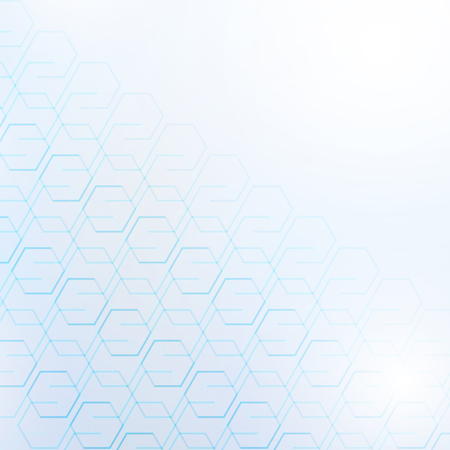 Abstract blue technology geometric corporate design background, Vector Illustration