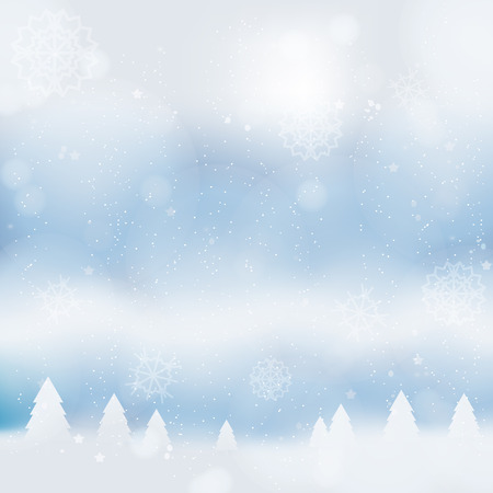 Abstract christmass winter background with snowflakes design new year celebration