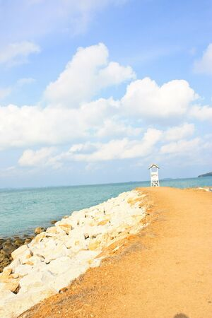 sea in thailand photo