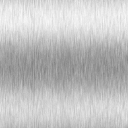 High contrast brushed aluminum texture with horizontal lighting effects / light reflections. Stock Photo - 392243