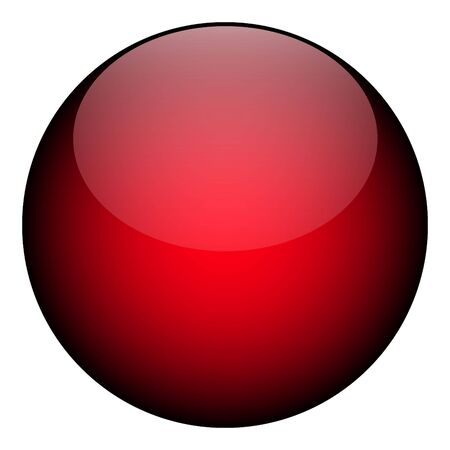 round: A red orb - it works as a great planet, button, or other art element.