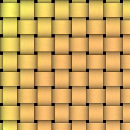 crisscross: golden basket weave texturepattern