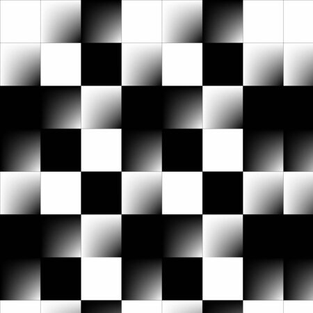 perpendicular: abstract checkerboard