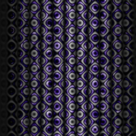 a cool 3d curtain with a pattern
