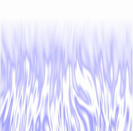 fuego azul: Helado blanco  azul fuego.  Foto de archivo