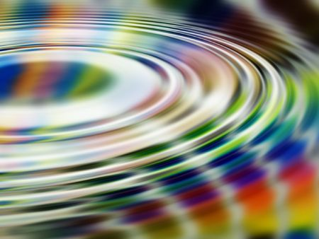 its a rainbow - liquified, with ripples Banco de Imagens