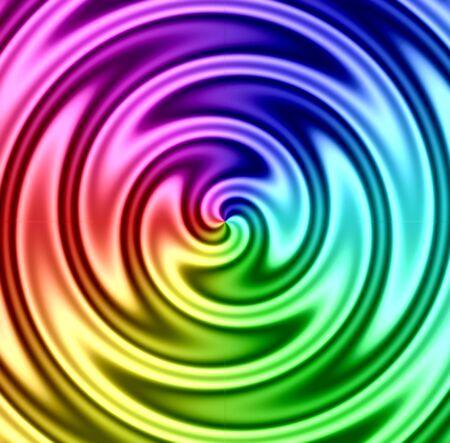 hypnotist: a spinning, colorful, twirling vortex.