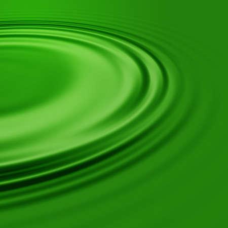 A pool of green liquid. Stock Photo