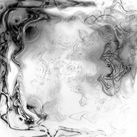black and white liquid plasma background Imagens