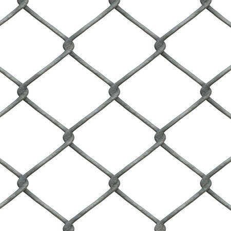 High-res chain link fence pattern- you can tile this image seamlessly, and apply it in both print and web design. Stock Photo - 686793