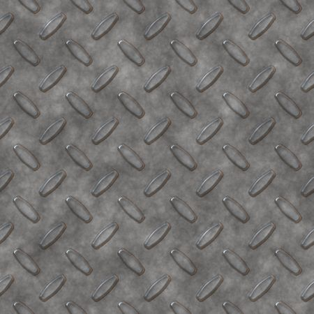 Steel diamond plate pattern - you can tile this seamlessly to fit whatever size you need, high res or web res. Stock Photo - 686794