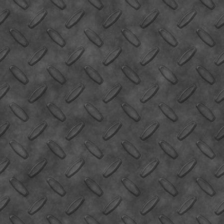 ironworks: Steel diamond plate pattern - you can tile this seamlessly to fit whatever size you need, high res or web res. Stock Photo
