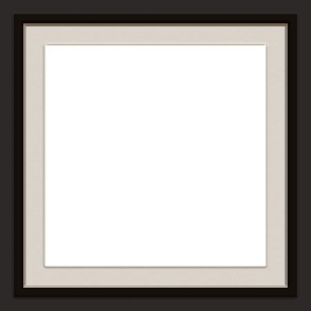A modern / contemporary picture frame.