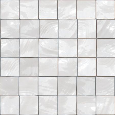 seamlessly: White bathroom tiles background - this tiles seamlessly.